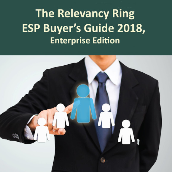 The Relevancy Ring ESP Buyer's Guide 2018, Enterprise Edition