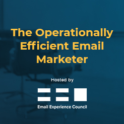 The Operationally Efficient Email Marketer