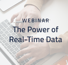 The Power of Real-Time Data